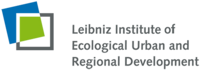Logo Leibniz Institute of Ecological Urban and Regional Development